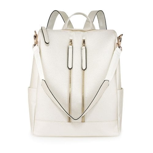 AG00523 - Ivory Backpack Rucksack School Bag