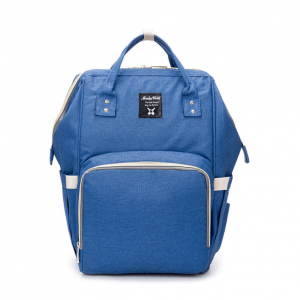 Blue Moms Backpack - Multi Purpose - Canvas Material