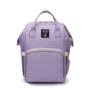 Purple Moms Backpack - Multi Purpose - Canvas Material