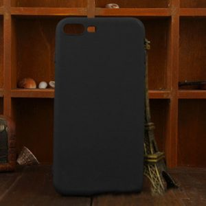 Matte Black iPhone Cover - Soft TPU