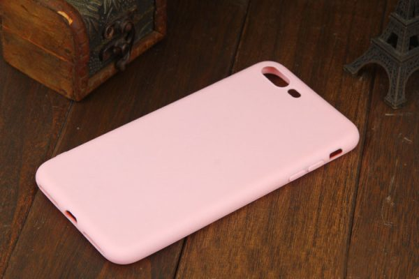 Matte Pink iPhone Cover - Soft TPU