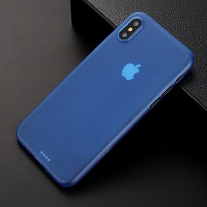 Blue Matte Finish iPhone Cover - Ultra Thin - Soft TPU
