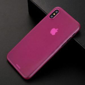 Rose Pink Matte Finish iPhone Cover - Ultra Thin - Soft TPU