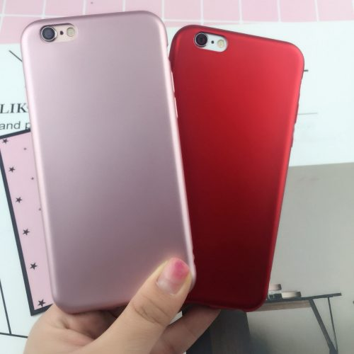 Matte Lipstick Red iPhone Cover - Soft TPU