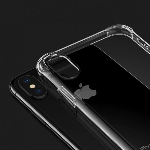 Premium Transparent iPhone Cover - Soft TPU - Protective Edges & Corners