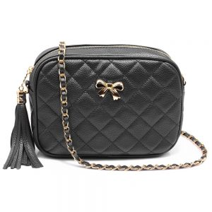 AG00540 - Black Cross Body Shoulder Bag