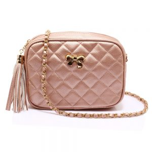 AG00540 - Champagne Cross Body Shoulder Bag