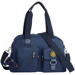 ce05d3f12c In stock. AG00541 Blue Duffle Shoulder Bag