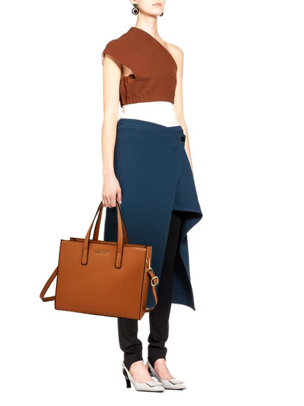 AG00592 - Brown Anna Grace Fashion Tote Bag