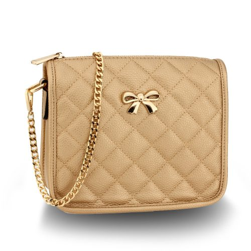 AG00598 - Gold Cross Body Shoulder Bag