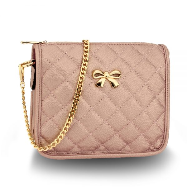 AG00598 - Champagne Cross Body Shoulder Bag