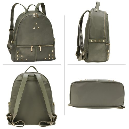 AG00599 - Grey Backpack Rucksack School Bag