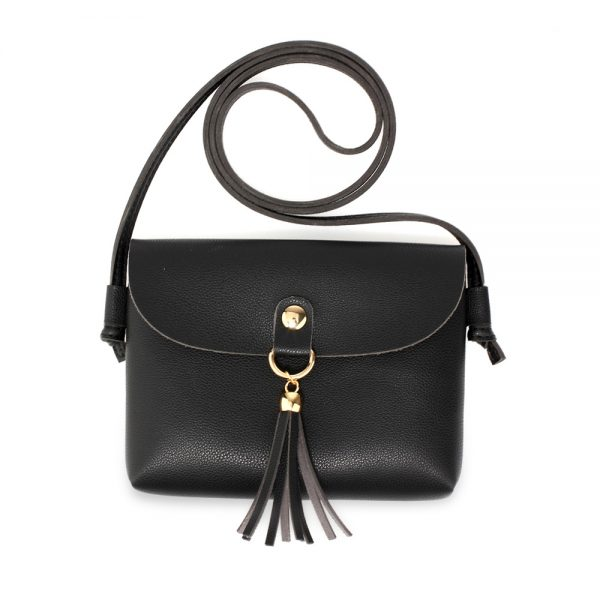 AG00612 - 3 Pieces Set Black Women's Fashion Handbags