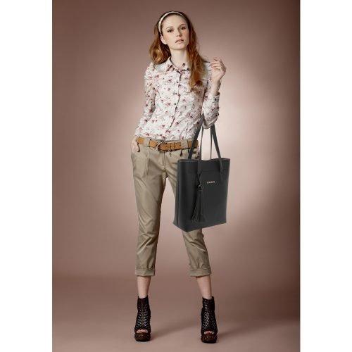 AG00612 - 3 Pieces Set Black Women's Fashion Handbags