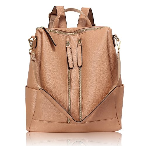 AG00523 - Nude Backpack Rucksack School Bag
