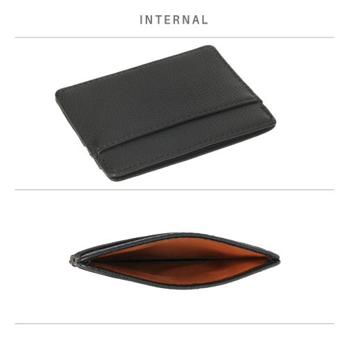 AGP1120 - Black Anna Grace Card Holder Wallet