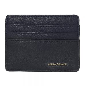 AGP1120 - Navy Anna Grace Card Holder Wallet