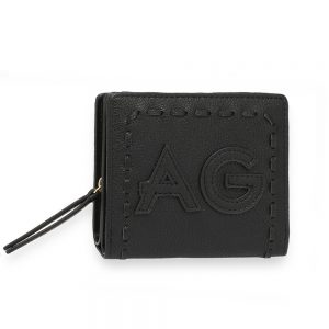 AGP1105 - Black Anna Grace Zip Around Purse / Wallet