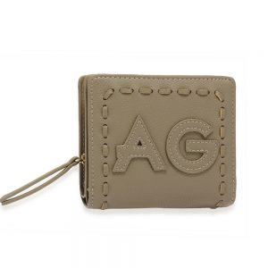 AGP1105 - Grey Anna Grace Zip Around Purse / Wallet
