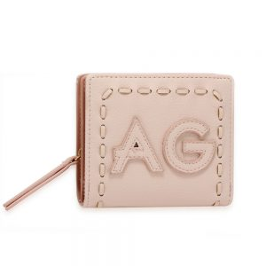AGP1105 - Pink Anna Grace Zip Around Purse / Wallet