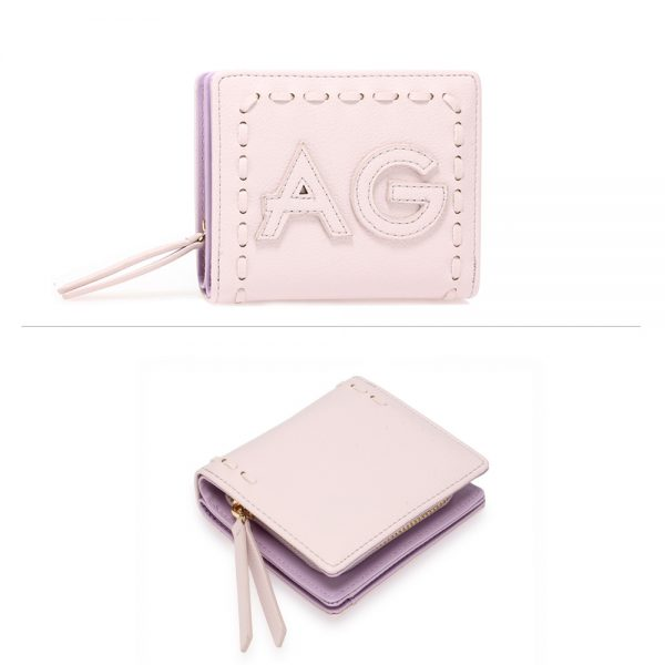 AGP1105 - Lavender Anna Grace Zip Around Purse / Wallet