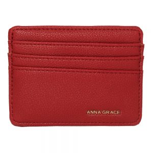 AGP1120 - Burgundy Anna Grace Card Holder Wallet