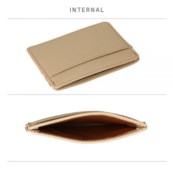 AGP1120 - Nude Anna Grace Card Holder Wallet