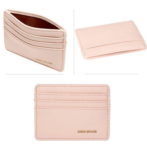 AGP1120 - Pink Anna Grace Card Holder Wallet