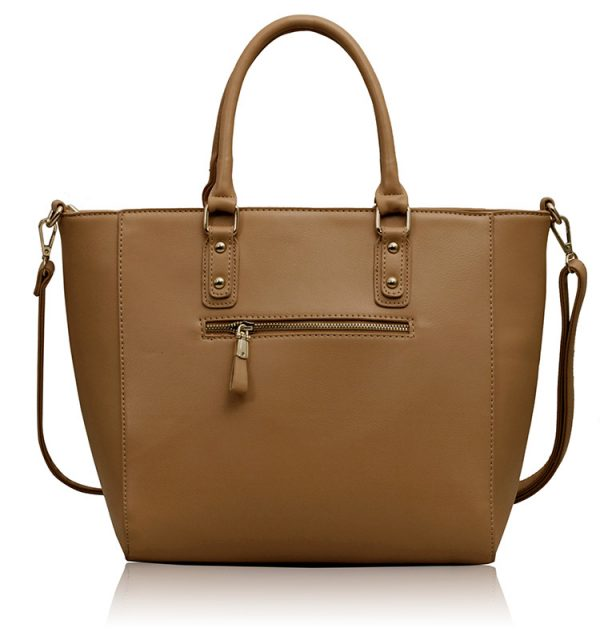LS00233A - Nude Shoulder Handbag