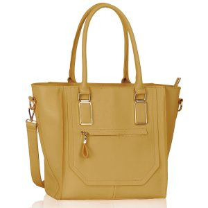 LS00323 - Nude Tote Bag With Long Strap