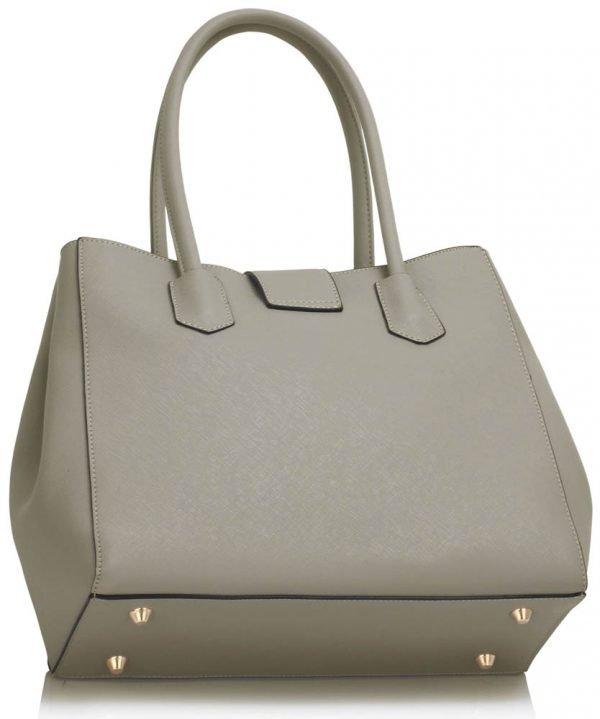 LS00450 - Grey Shoulder Handbag