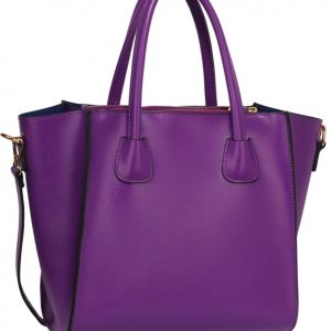 LS0061B - Purple Fashion Tote Bag