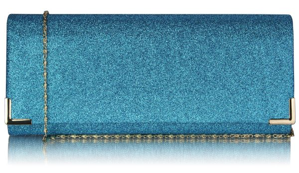 lse00235-teal-glitter-clutch-bag