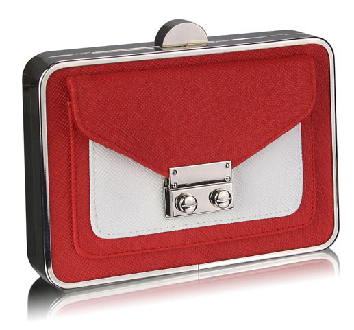 lse00268-red-white-hardcase-clutch-bag-with-long-chain