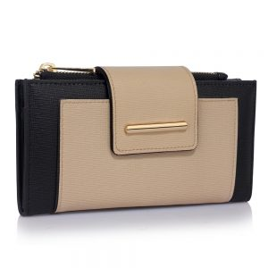 LSP1079 - Black / Nude Purse/Wallet