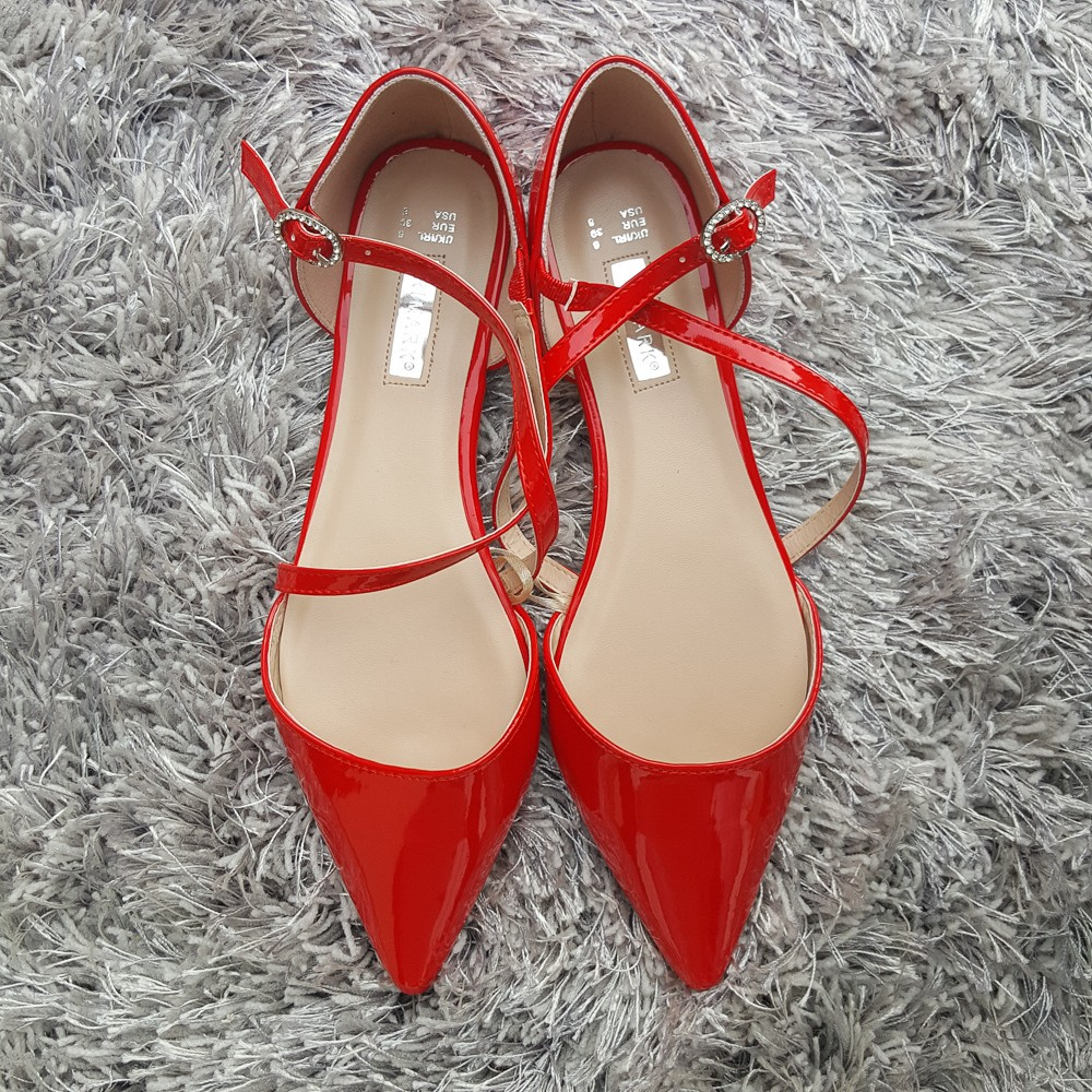 primark-red-patent-pointed-flats