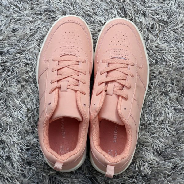 primark-peach-pink-leather-sneakers