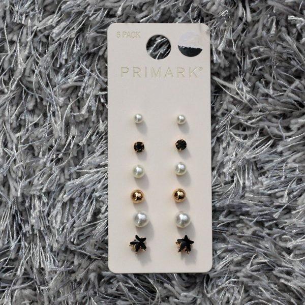 primark-6-pack-black-and-pearl-studs