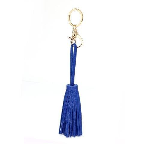 AGT101 - Blue Tassel Keychain Bagcharm