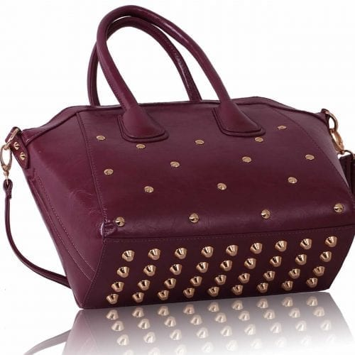 LS00102 -  Purple bag studs on bottom