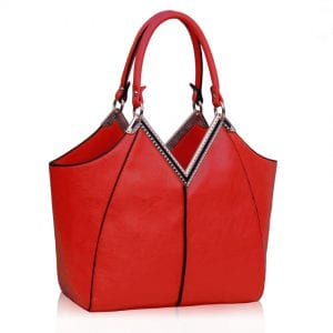 LS00156 - Red Grab Tote Bag