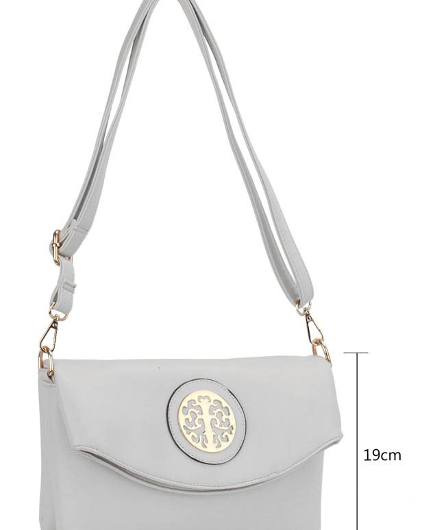 LS00371A - White Shoulder Cross Body Bag