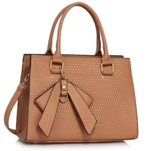 LS00374B - Nude Grab Bag With Bow Charm