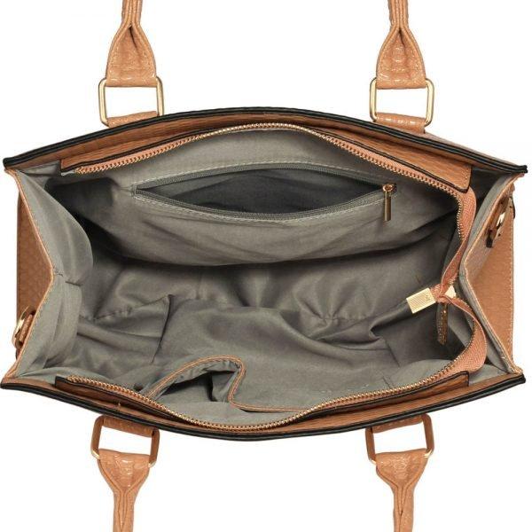 LS00374B - Nude Grab Bag With Bow Charm