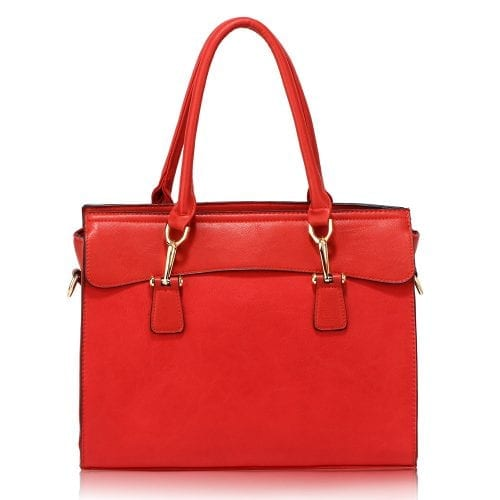 AG00342 - Red Grab Tote Bag