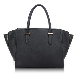 AG00517 - Black Women's Tote Handbag