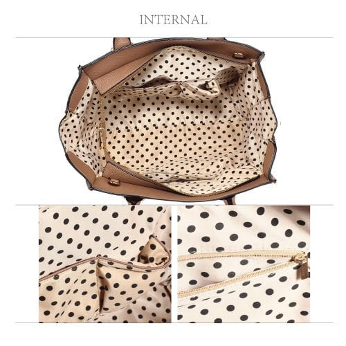 AG00517 - Nude Women's Tote Handbag