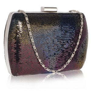 LSE00336 - Multi Sequin Clutch
