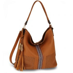 AG00624 - Brown Women's Hobo Bag