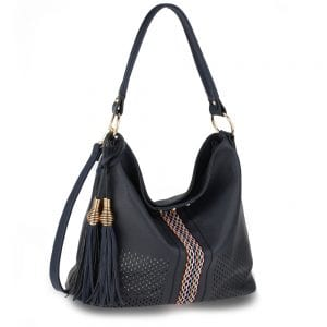 AG00624 - Navy Women's Hobo Bag